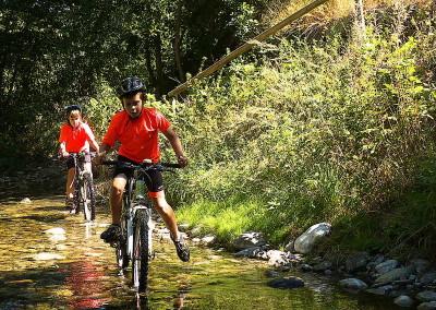 SLIDE 03 ruta bicicleta ideal familia tracks cicloturismo facil excursion niños pequeños btt Cerdanya Pirineos gps track
