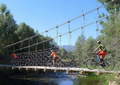 SLIDE 05 ruta bicicleta ideal familia tracks cicloturismo facil excursion niños pequeños btt Cerdanya Pirineos gps track