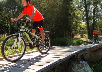 SLIDE 08 ruta bicicleta ideal familia tracks senzilla facil excursio nens iniciacio btt Cerdanya Pirineus gps track